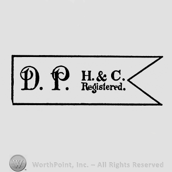 a banner with the initials DP H&C Registered