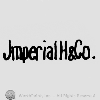 the text Imperial H & Co.