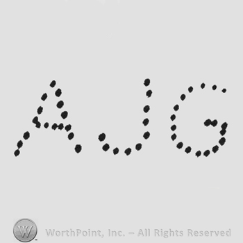 Dotted initials AJG