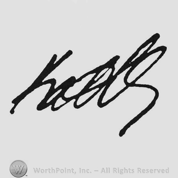 Hand lettered signature: Kate Adams