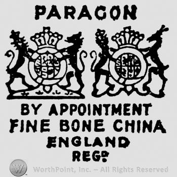 Marks paragon china Paragon Marks