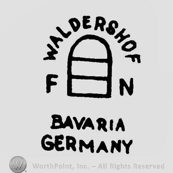 Waldershof bavaria germany marks