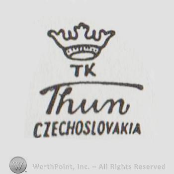 Pottery marks czechoslovakia 'Hand