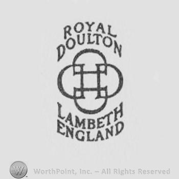 Mark With Logo With Royal Doulton Lambeth 4720